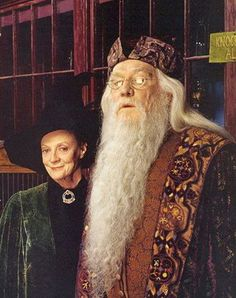 Minerva and Dumbledore