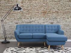 Scandinavisch design en blauw: deze bank combineert dé trends van 2016! Shop hem op beliani.nl