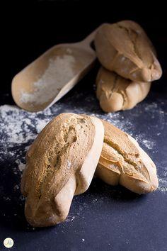 Pane foglie di farro