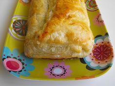 Folhado de legumes com farinheira, espinafres e queijo by a galinha maria, via Flickr