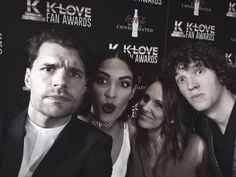 for KING & COUNTRY Selfies with the Wifey's