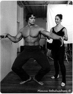 Arnold Schwarzenegger - ballet lesson