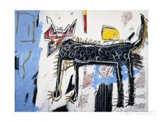 Part Wolf Giclee Print by Jean-Michel Basquiat at AllPosters.com