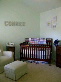 Boy nursery / nursery decorating ideas
