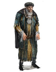 Merchant of Mercuna Fantasy Male, Fantasy Rpg, Medieval Fantasy, Dark Fantasy, Fantasy Character Design, Character Art, Character Concept, Concept Art, Dnd Characters