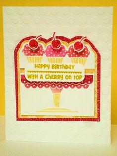 - Tamsininamania -: Happy Birthday with a cherry on top