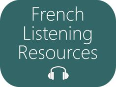 Listen to French - Authentic French Listening Resources : French Listening Resources: Listen to authentic and spontaneous spoken French Listen to authentic and spontaneous spoken French on a variety of topics, recorded by native speakers in France Ap French, Core French, French Tips, French Phrases, French Words, French Teacher, Teaching French, French Flashcards, French Worksheets