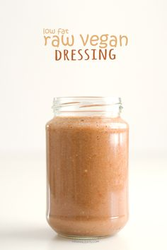 Low Fat Raw Vegan Dressing | http://simpleveganblog.com/rainbow-salad-low-fat-raw-vegan-dressing/