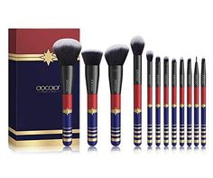 Docolor Makeup Brushes Set Professional Brushes for Makeup Synthetic Hair Powder Foundation Eyeshadow Make up Brushes Details : Product Brand: Docolor Product Name: 12 Pieces Starlight Goddess Brush Set Eyeshadow Brush Set, Eyeliner Brush, Lip Brush, Makeup Brush Set, Eyeshadow Makeup, Eyebrow Brush, Hair Makeup, Blending Eyeshadow, Best Makeup Brushes
