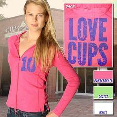 Kavio Ladies Hoody - Love Cups
