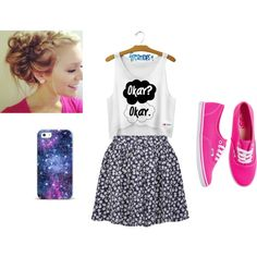 """""""Teen Outfit"""" by kaelarabbit on Polyvore"""