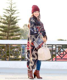 Blanket Cape & Beanie #fashionblogger #banggood #indianfashionblogger