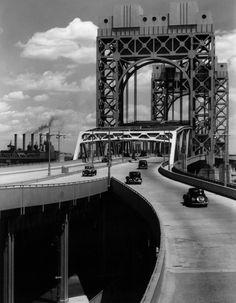 Triborough Bridge, East 125th Street Approach, New York City, June 29, 1937 by Berenice Abbott