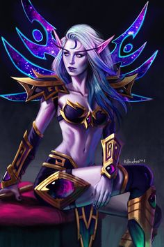 Void Elf 2 by Kyle 'Kayhos' Herring Source: http://ift.tt/2EYplqu