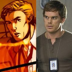 Hank Pym (Michael C Hall).   A friend of mine thinks that he's the perfect fit for a young Hank Pym. I have to say that I agree with her. And Hall's actor's sense in Dexter, just nailed it for me.