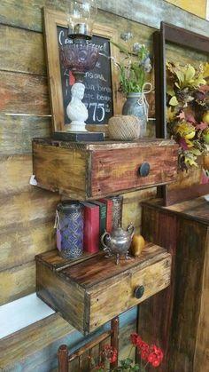 Floating shelves/nightstand