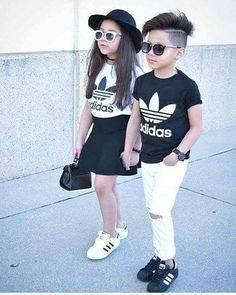 24 Ideas Children Outfits Boy Hair Cut For 2019 Cute Little Girls Outfits, Kids Outfits Girls, Toddler Outfits, Boy Outfits, Cute Outfits, Matching Outfits, Cute Kids Fashion, Baby Girl Fashion, Toddler Fashion