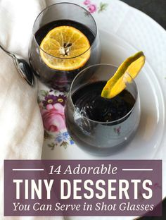 TINY DESSERT RECIPES YOU CAN SERVE IN SHOT GLASSES: If you've got shot glasses lying around, then you can easily make these cute and fun desserts! These desserts are perfect for parties as a complement to finger foods or as an end to a romantic meal at home when you don't want a full-blown food coma. Here you'll learn how to make strawberry shortcake shooters, peanut butter chocolate pudding parfaits, cheesecake parfaits, mini marshmallow milkshakes, mini brownie sundaes, and more. Click thr...