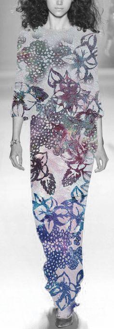 Fading Hydrangea Print Design By Gemma Lofthouse ©