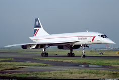 Concorde: Aerospatiale-BAC 102 British Airways. Pictured here.