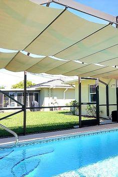 20 Swimming Pool Shade Ideas Pool Shade Patio Backyard