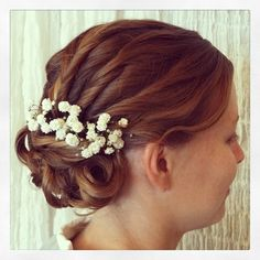 #bridal #updo #wedding #hair #beauty