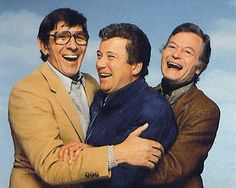Nimoy, Shatner and Kelley ~ what a great photo!!!!