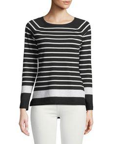Breton Striped Crewneck Sweater