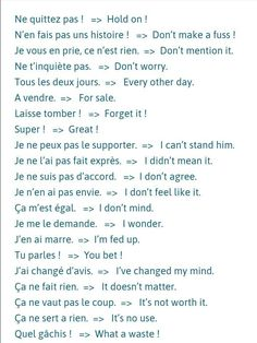 Get french expressions HD Wallpaper [] asugio-wall. Gcse French, French Slang, French Verbs, French Grammar, French Phrases, French Quotes, French Sentences, Basic French Words, How To Speak French