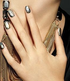 Nails & Matching Bling #Beyonce #BeyonceParfums