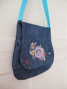 Tasche aus alter Jeans / Bag made from old pair of jeans / Upcycling