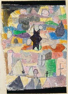 Paul Klee: Unter schwarzem Stern. 1918