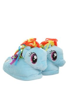 My Little Pony Rainbow Dash Slippers