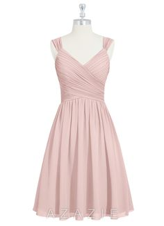 Shop Azazie Bridesmaid Dress - Mikaela in Chiffon. Find the perfect made-to-order bridesmaid dresses for your bridal party in your favorite color, style and fabric at Azazie.