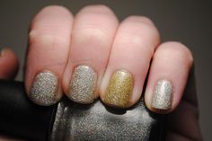 New Year's nails! by TartanHearts, via Flickr