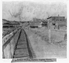 Protestant Orphan Asylum, Laguna St., San Francisco
