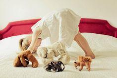 Yoga with stuffed animals © Mandy Karow via Next Generation Yoga