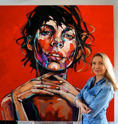 DESIRE 150x150cm, oil on canvas 2017 GALERIE BARTOUX LONDON
