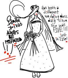 Always Prepared 11x14 Matted Print by DoodleDivas on Etsy, $50.00
