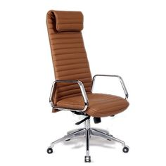 Designer Modern Ox Office Chair High Back Light Brown Professional Swivel and Tilt High Back Office Chair with 5 Star Base and Removable Arms * Find out more about the great product at the image link.Note:It is affiliate link to Amazon.