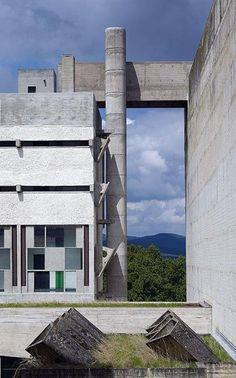 Convento de Santa María de la Tourette Le Corbusier