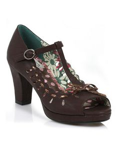 Bettie Page | Daily deals for moms, babies and kids A high-heeled peep toe I could actually walk in!