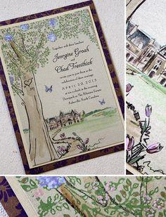 Butterfly wedding invitation  Keywords: #butterflyweddings #jevelweddingplanning Follow Us: www.jevelweddingplanning.com  www.facebook.com/jevelweddingplanning/
