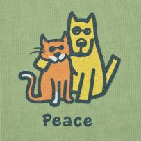 Peace. #lifeisgood #dogs #cats $26