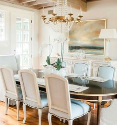 Dining room by Rivers Spencer Interiors
