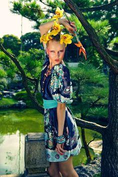 "Quirky Floral Editorials - The Benny Tan ""Oriental Princess Warrior"""