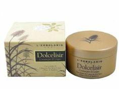 Dolcelisir Perfumed Body Cream by L'Erbolario Lodi by L'Erbolario Lodi. $38.00. Dolcelisir presents a blend of unique and exquisite fragrances, which create an atmosphere of relaxation and calm. It is comprised of the sweetness of rum, cacao, and spices balanced by the slightly bitter flowers of Sambuco. The use of extracts from the leaves of sugar cane as well as from cacao seeds goes back to the Mayan civilization where they were known to relieve the worries...