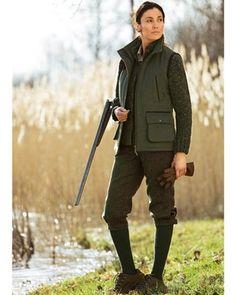 Parforce Traditional Hunting Tweed-Knickerbocker (grün) - Westen & Mieder - Bekleidung - Damenmode Online Shop - Frankoniamoda.ch