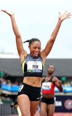 Olympics. Olympians to Watch: Allyson Felix!
