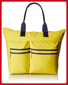 Tommy Hilfiger Sport Nylon Large Tote Top Handle Bag, Capri Yellow, One Size - Totes (*Amazon Partner-Link)